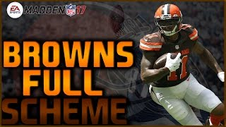getlinkyoutube.com-Madden 17: Y-Trips HB Wk Full Scheme! Browns Offensive Guide! Draft Champions Ranked! #MaddenBowl