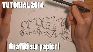 getlinkyoutube.com-TUTORIAL : APPRENDRE LE GRAFFITI SUR PAPIER (débutant / francais) [HD 1080]