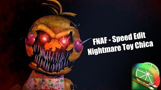 [Speed Edit]Making Nightmare Toy Chica - Haciendo a Nightmare Toy Chica