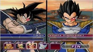 getlinkyoutube.com-DBZ Budokai Tenkaichi 3 - Turles VS Nappa, Raditz, Vegeta & Freezer (Epic Fight)