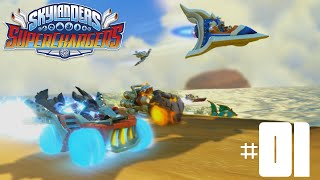 Skylanders SuperChargers Wii U -- Part 1: The Rift to Skylands (Chapters 1-4)