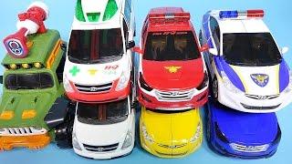 getlinkyoutube.com-TOBOT CarBOT transformers car toys play