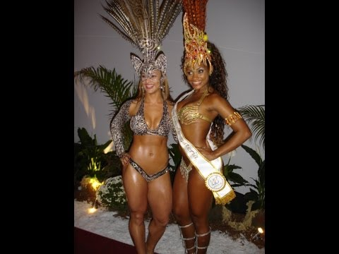 Show Openings Samba Carnival School with Top Mulatas Well Brazil