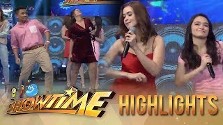 It's Showtime: Ogie, Leila, Sunshine and Angelina dance to the