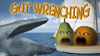 getlinkyoutube.com-Annoying Orange - Gut Wrenching (Ft. Steve Zaragoza as Captain Obvious!)