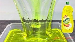 Cara Membuat Sunlight Slime Jumbo | Clear Slime | Yellow