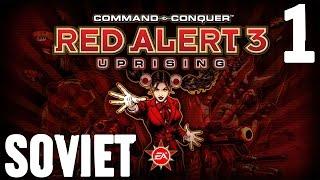 getlinkyoutube.com-C&C Red Alert 3 Uprising Soviet Mission 1 Raid on Lost Castle