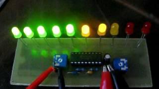 getlinkyoutube.com-Indikátor vybuzení s LM3915