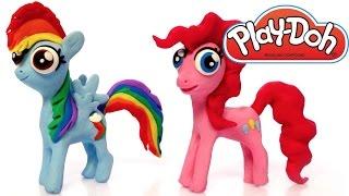 getlinkyoutube.com-My Little Pony Play Doh clay. How to make My Little Pony