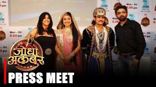 getlinkyoutube.com-Jodha Akbar Press Conference - Rajat Tokas , Paridhi Sharma