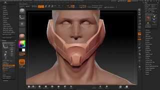 getlinkyoutube.com-Tutorial HardSurface Zbrush Ita - parte1 - concepting e mesh base