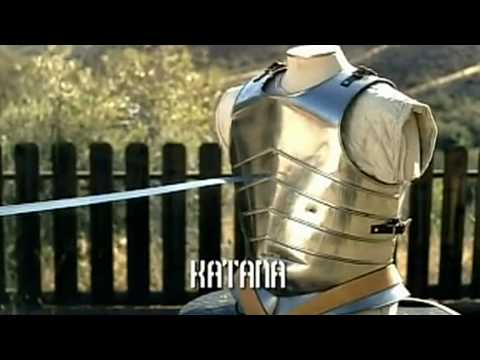 Japanese Katana VS European Longsword - Samurai sword VS Kni