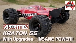 getlinkyoutube.com-Modified ARRMA Kraton 6S - INSANE POWER!