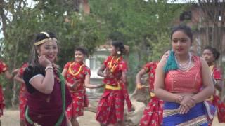 getlinkyoutube.com-ज्योति मगरको अर्को हट भिडियो | Jyoti Magar & Kamal Chanchal Video Shooting