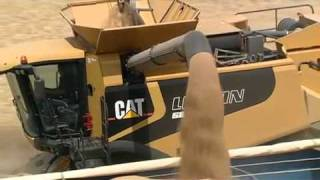 CAT Lexion 500 series - Can you feel it?