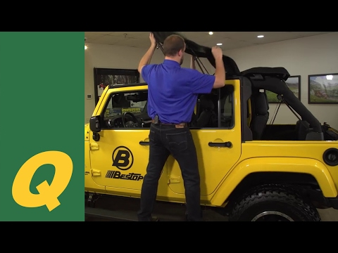Bestop Trektop NX Glide Soft Top for Jeep Wrangler JK and JKU Review