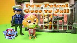 getlinkyoutube.com-PAW PATROL Nickelodeon Paw Patrol Goes To JAIL a Paw Patrol Video Parody