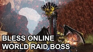 getlinkyoutube.com-Bless Online My Instance World Boss Experience