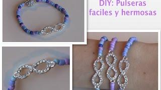 getlinkyoutube.com-DIY: Como hacer pulseras faciles y rapido!