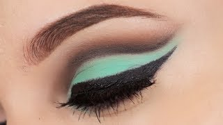 getlinkyoutube.com-Mint Cut Crease