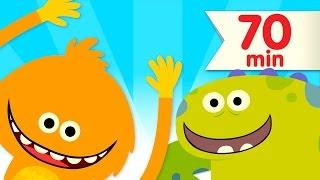 getlinkyoutube.com-How Many Fingers? + More | Kids Songs | Super Simple Songs