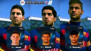 FIFA Online 3 - รีวิว MSN [14T] [NEW ENGINE]
