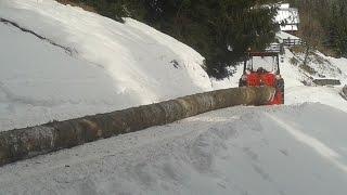 getlinkyoutube.com-Holzarbeiten mit Lindner 420