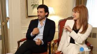 getlinkyoutube.com-Jessica Chastain: I'm a geek and I'm going to Comic Con