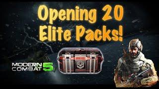 getlinkyoutube.com-Opening Elite Packs in Modern Combat 5: Blackout