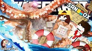 getlinkyoutube.com-해적 도잠! 대왕문어와 싸워 보물을 찾아라!! [마인크래프트 커스텀 커맨드: 크라켄] - Custom Command - [잠뜰]