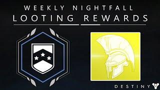getlinkyoutube.com-Destiny: Weekly Nightfall Looting Rewards