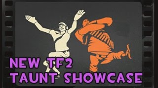 getlinkyoutube.com-New TF2 Taunt & Weapon SHOWCASE - Gun Mettle, Kazotsky Kick Mayhem
