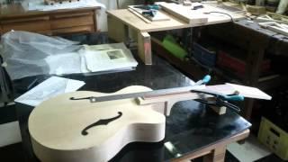 getlinkyoutube.com-Building an Archtop Jazz Guitar 2012