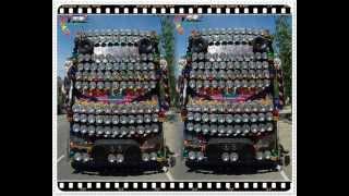 getlinkyoutube.com-Bus (Fan Buses) รถบัสพัดลม & เพลงแดนซ์ Remix