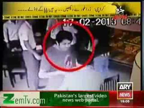 Karachi Gangster Boys Cought On Camera