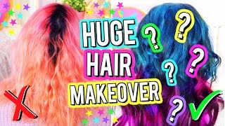 HUGE HAIR MAKEOVER 2017! Watch Me Completely CHANGE My Hair!