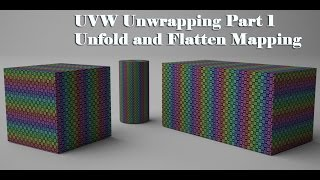 getlinkyoutube.com-UVW Unwrapping in 3ds Max Part 1