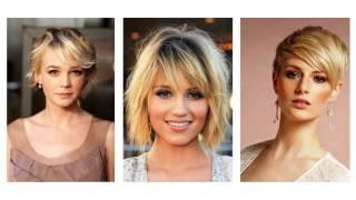 getlinkyoutube.com-Cortes de pelo corto para mujeres de cara redonda