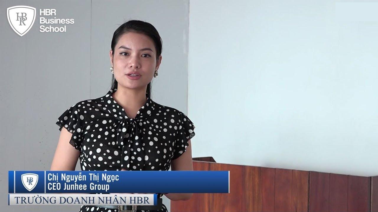 Cảm nhận học viên trường doanh nhân HBR về khóa học chiến lược mô hình kinh doanh - Tony Dzung