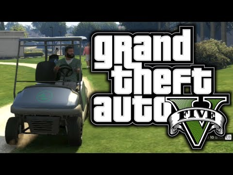 Gta 5: Funny Moments! #2 - Golf, Police Chases, Planes! - g