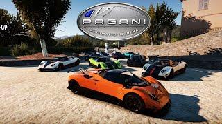 getlinkyoutube.com-Forza Horizon 2 - Pagani Zonda Special! TEN Zonda Convoy