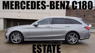 (ENG) Mercedes-Benz C180 Estate  - Test Drive and Review