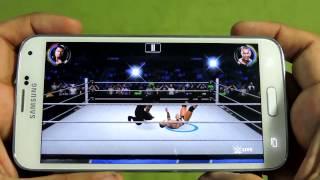 getlinkyoutube.com-SAMSUNG GALAXY S5 WWE 2K GAMEPLAY