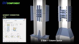 getlinkyoutube.com-Tekla Structures Auto Connections - DS Component (English)