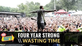 "getlinkyoutube.com-Four Year Strong - ""Wasting Time (Eternal Summer) (Live 2014 Vans Warped Tour)"