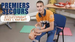 Que faire en cas d'étouffement de l'enfant ou du nourrisson ? - Premiers Secours width=