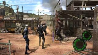 getlinkyoutube.com-Resident Evil 5 PC - Wesker God Mode (Super Saiyan?)