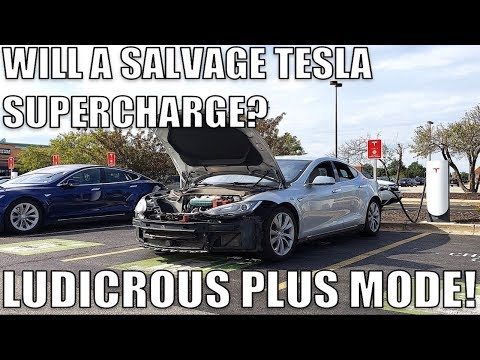 I Bought A SALVAGE TESLA With A DESTROYED Battery Pack Cooling System. Here's How I Fixed It At Home