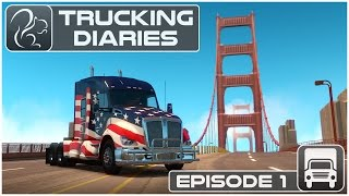 getlinkyoutube.com-Trucking Diaries - Episode #1 (American Truck Simulator)
