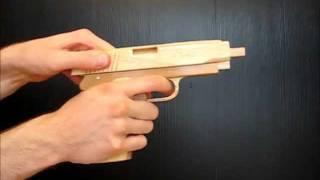 getlinkyoutube.com-[rubber band gun] Vis wz. 35 — Mk.1